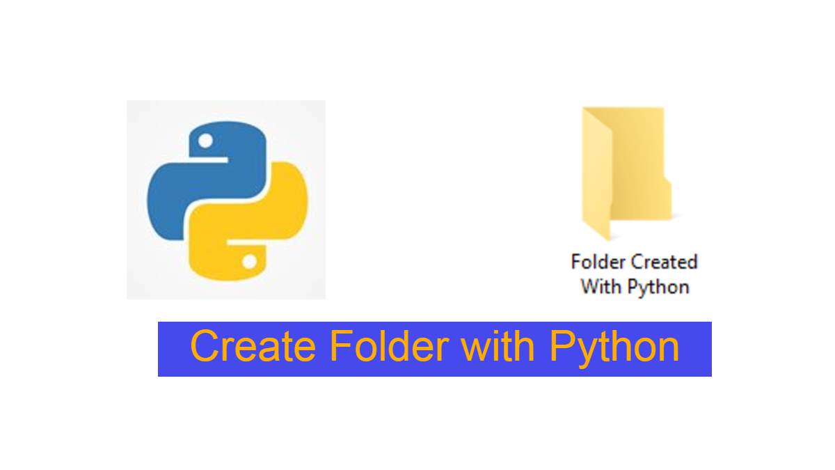 how-to-Create-folder-with-python