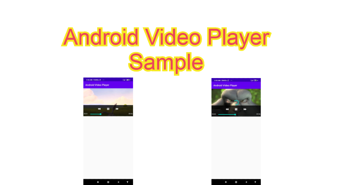 Android Video Player Sample
