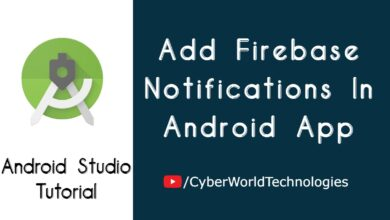Add Firebase Notifications In Android App