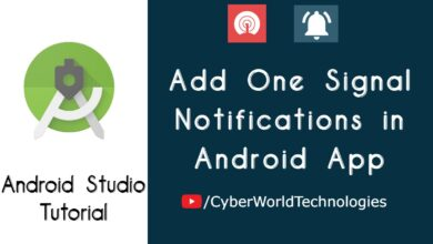 Add One Signal Notifications in Android App