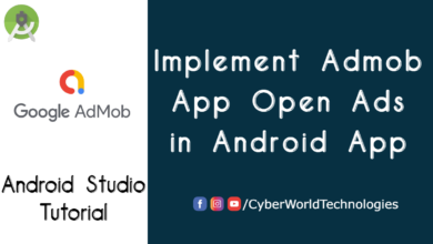Implement Admob App Open Ads in Android App