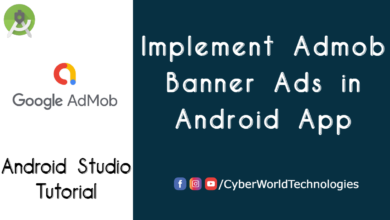 Implement Admob Banner Ads in Android App