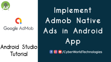 Implement Admob Native Ads in Android App
