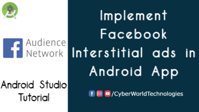 Implement Facebook Interstitial ads in Android App