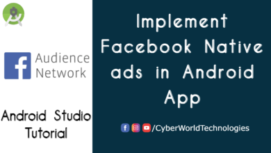 Facebook Native Ads in Android