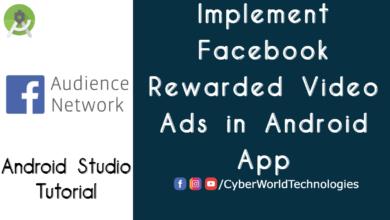 Facebook Rewarded Video Ads